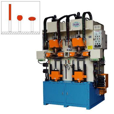 Vertical Type Double Head Electrical Heating Upsetter, DJ-VHB910